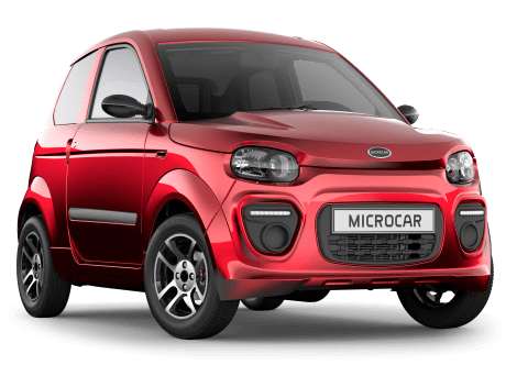PRESENTATION MICROCAR M.GO PLUS Rouge Toledo